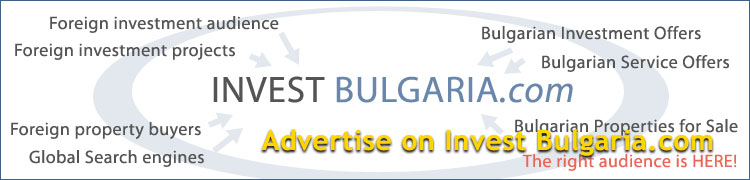Advertise on Invest Bulgaria.com