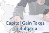 Capital Gain Taxes in Bulgaria