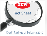 CREDIT RATINGS FOR BULGARIA BY MAJOR INTERNATIONAL INVESTMENT HOUSES (2010)