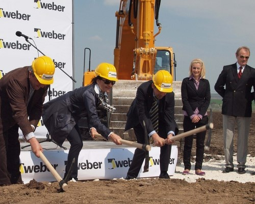 FRENCH COMPANY SAINT-GOBAIN WEBER BUILDS 2ND FACTORY IN BULGARIA