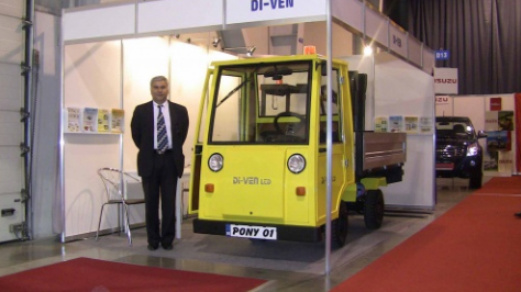 BULGARIA'S 1ST ELECTRIC LIGHT TRUCK UNVEILED IN SOFIA