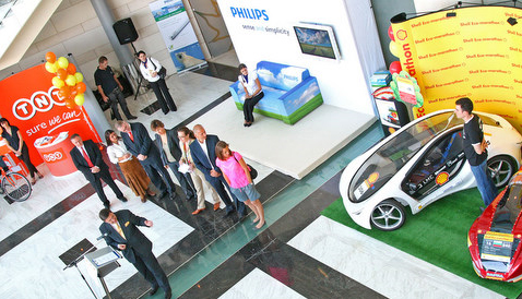 TNT, SHELL, PHILIPS COME TOGETHER TO PROMOTE GREEN LIFE IN BULGARIA
