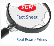 NEW REAL ESTATE PRICES IN BULGARIA FACTSHEET ADDED