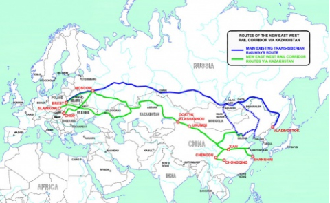CHINA INVITES BULGARIA TO JOIN HIGH-SPEED ASIA-EUROPE RAIL WITH TURKEY