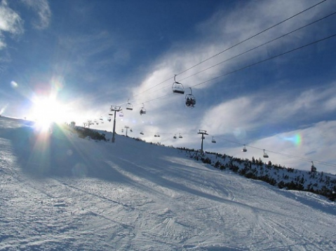 SKI POLICE TO GUARD BULGARIAN RESORT PAMPOROVO