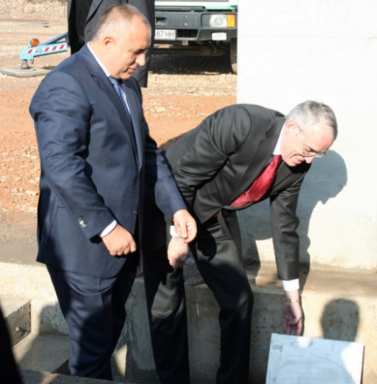 BULGARIA'S SOPHARMA BREAKS GROUND OF BGN 70 M PLANT