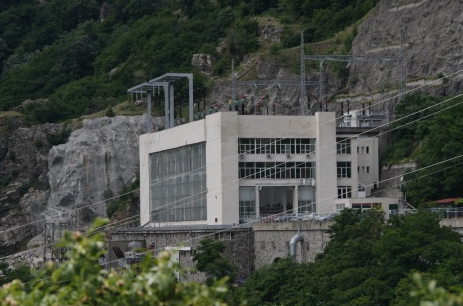NEW FRENCH HYDRO-POWER PLANT UNVEILED IN BULGARIA