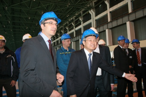 TOSHIBA MAY INVEST EUR 350 M IN NEW THERMAL POWER PLANT IN BULGARIA