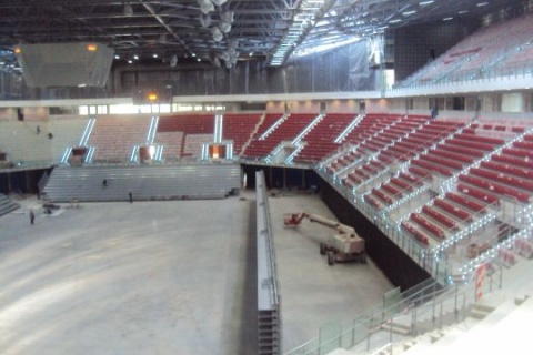 CONSTRUCTION OF BULGARIA'S NATIONAL SPORTS ARENA COMPLETED