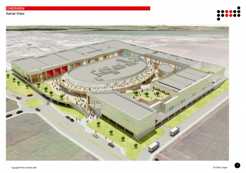 BULGARIA'S 1ST OPEN AIR MALL TO BE BUILT IN BURGAS