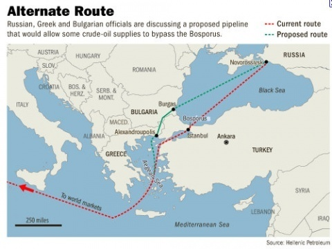BULGARIAN GOVT DOESN'T PULL THE PLUG ON BA OIL PIPELINE YET