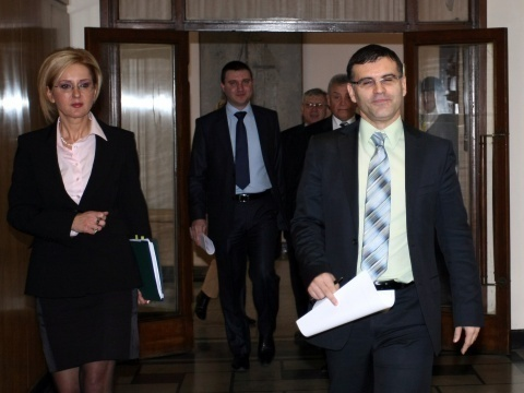 BULGARIA MPS DEBATE CONSTITUTION CHANGES OVER PROPOSED FISCAL PACT
