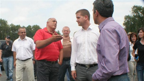 Bulgarian PM Breaks Ground of 2nd Road to Greece