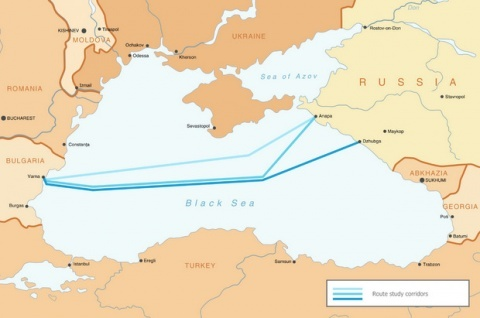 GAZPROM TO POWER AHEAD WITH 2 SOUTH STREAM PIPES FROM RUSSIA TO BULGARIA