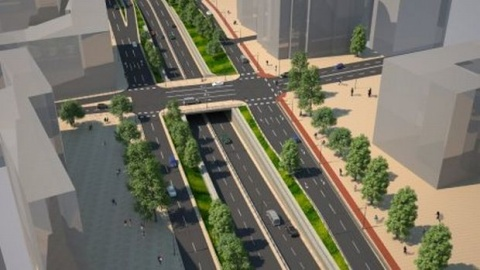 BULGARIA'S SOFIA TO COMPLETE 1ST OVERPASS IN JULY 2012