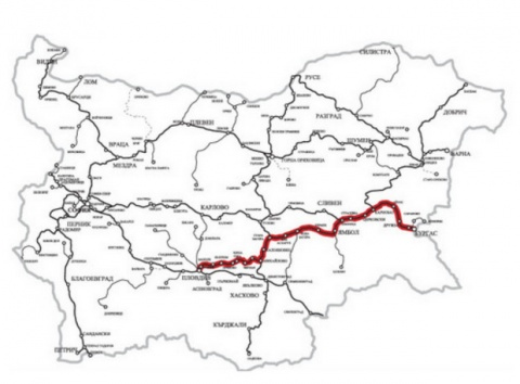 BULGARIA REHABILITATES 35% OF PLOVDIV-BURGAS RAILWAY