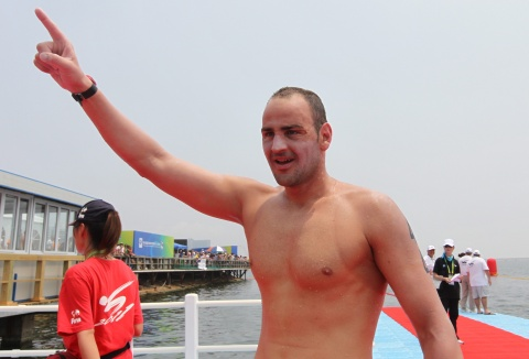 BULGARIAN SWIMMER PETAR STOYCHEV EARNS OLYMPIC BERTH