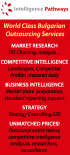 Intelligence Pathways - Outsource your Business and Competitive Intelligence to Bulgaria