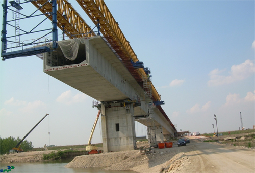 DANUBE BRIDGE TO BE COMPLETELY FINISHED BY 2012
