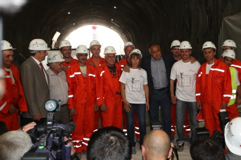 EUROPE'S LARGEST METRO TUNNEL OPENED IN BULGARIA'S SOFIA