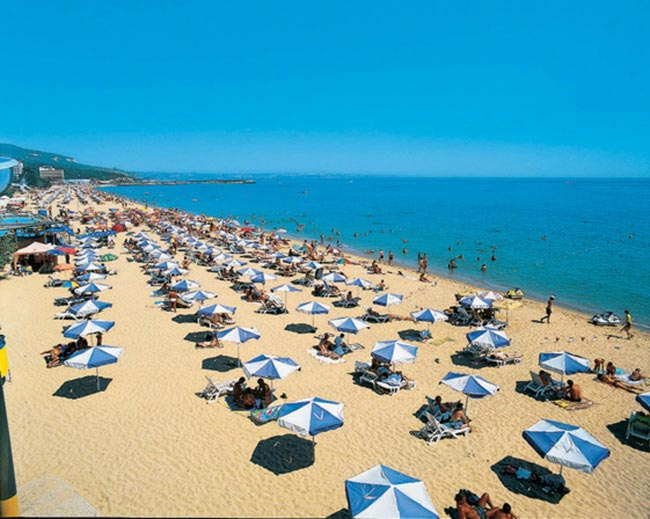 BULGARIA'S LARGEST BEACH RESORT OPENS FOR 'OPTIMISTIC' SEASON